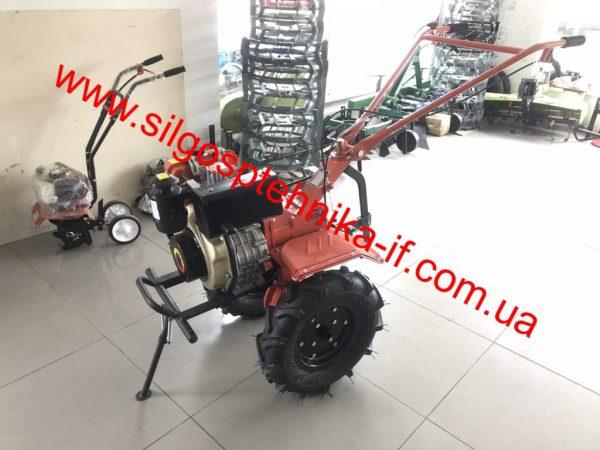 Мотоблок дизельний 6к.с. Zubr HT-105