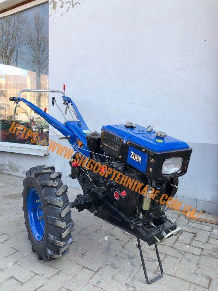 Мотоблок дизельний 8к.с. Зубр Q-78