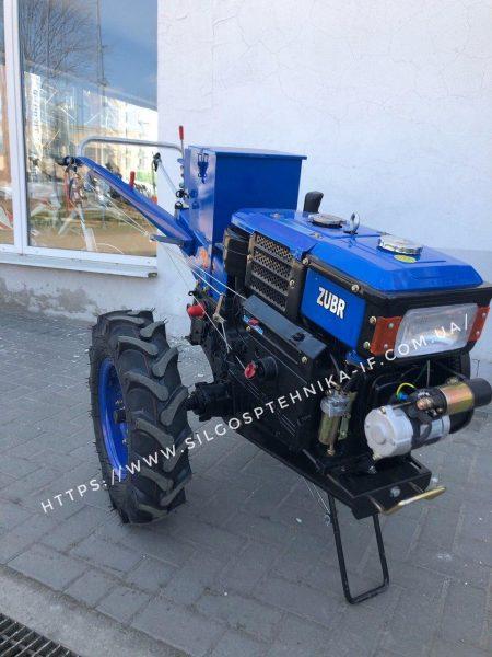 Мотоблок дизельний 10к.с з Електростартером Zubr Q-79
