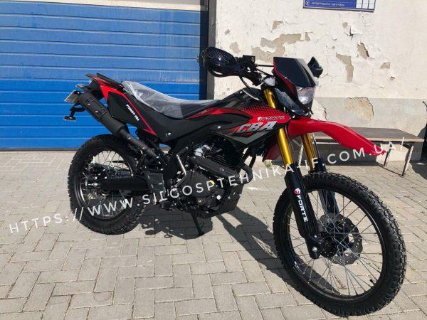 Мотоцикл Forte 250 кросовий. FT250GY-CBA