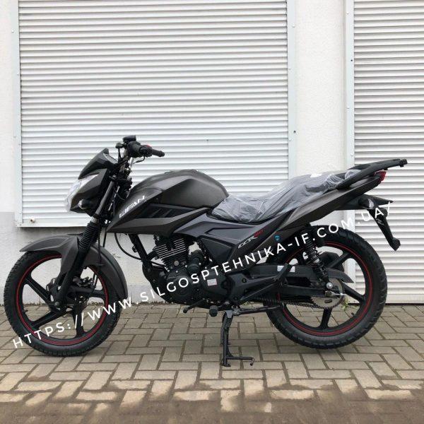 Мотоцикл Lifan 150 куб. Дорожній мотоцикл. LF150-2E Grey matt